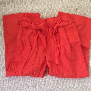 J. Crew Paperbag Pants